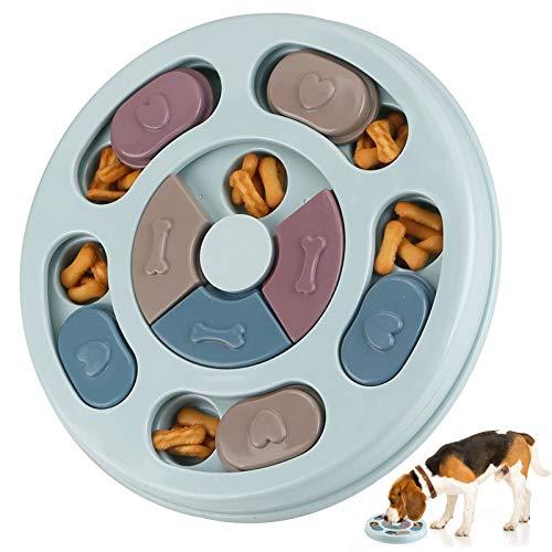 RJEDL Hund Puzzle Feeder Spielzeug, Haltbares interaktives Hundespielzeug, Hundehirn Spiele, Verbessern...