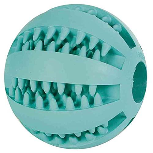 Trixie Denta Fun Ball, Naturgummi mit Minzgeschmack