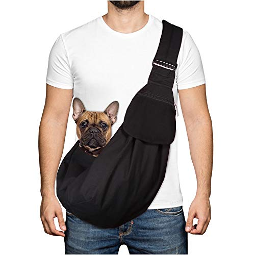 Lukovee Wasserdicht Hundetragetasch, Tragetuch Hund Haustiere Single-Schulter Schleuderträger...