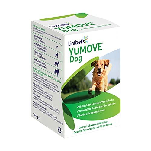 Lintbells | YuMOVE ausgewachsener Hund | Hüft- und Gelenkergänzung für steife ausgewachsene Hunde, mit...