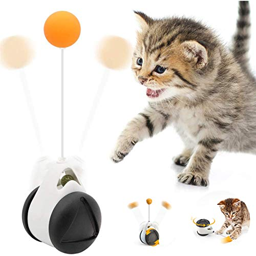 Katzen Spielzeug, Interaktives Katzenspielzeug Balance Schaukel Katzen Spielzeug mit Katzenminze und...