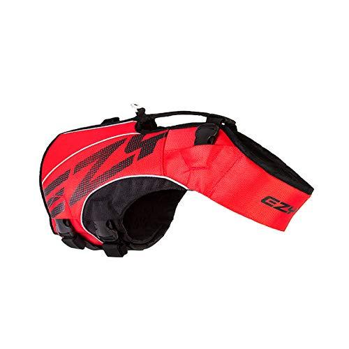 EzyDog X2 Boost-Schwimmweste für Hunde, Größe S, Rot