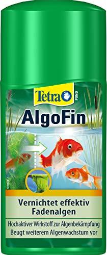 Tetra Pond AlgoFin Teich Algenvernichter - wirkt effektiv bei Fadenalgen, Schwebealgen und Schmieralgen...