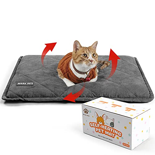 Selbstheizende Decke für Katzen & Hunde, Größe: 89 x 58 cm, Wärmedecke Umweltfreundliche,...
