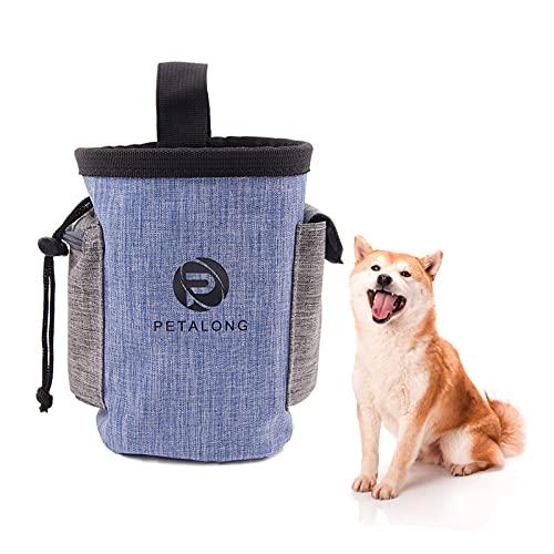 Nizirioo Hundetraining Treat Pouch Futterbeutel für Hunde Tragbare Wasserfest Futterbeutel Dog Snack...