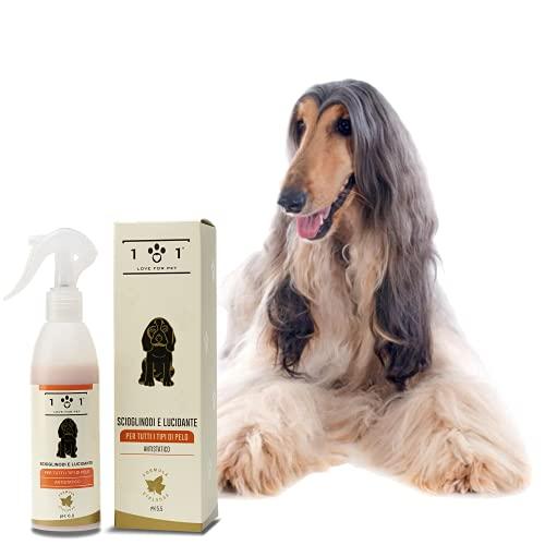 Entfilzungsspray und Polieren natürliches für Hunde, 250ml – Conditioner Spray mit Inhaltsstoffen und...