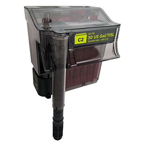 Fluval C2 Clip-On 5-Stufen Aquarienfilter, Außenfilter