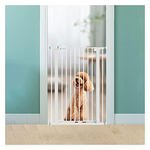 PTY Treppenschutzgitter Treppengitter für Haustiere, automatisches Schließsystem, Höhe 100 cm,...