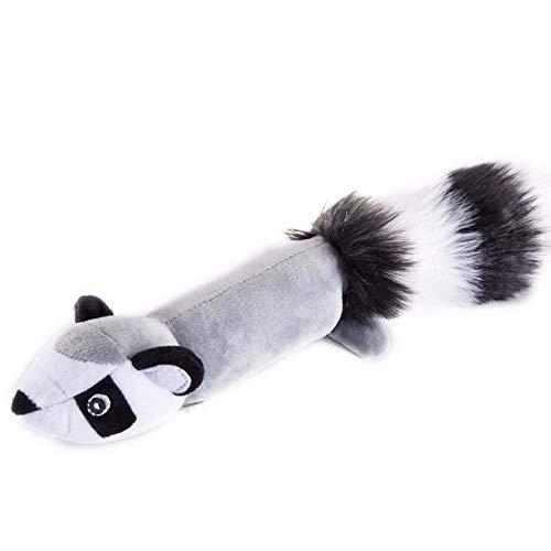 ADIE Hunde Plüsch spielt Entzückendes vokales Eichhörnchen Plüsch gefüllt Haustierspielzeug für...