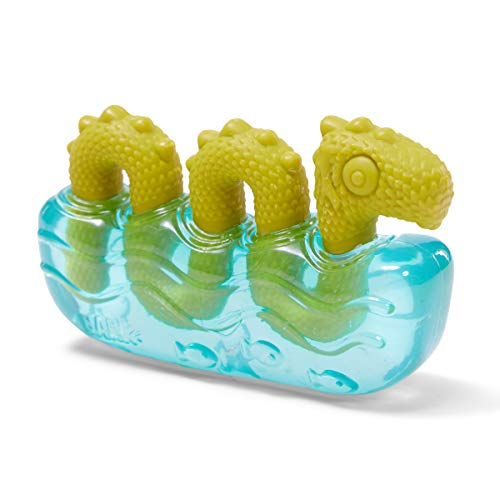 PINPOXE Barkbox Robustes Kauspielzeug für Hunde, Gummi- und Nylon-Spielzeug für Kauer, strukturiertes...