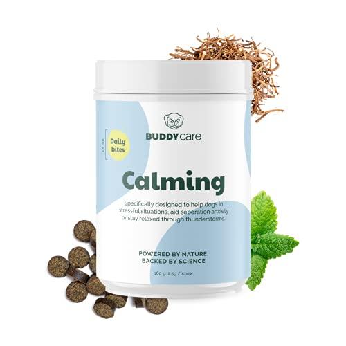 Calming Chews | BuddyCare | 100% natürliche Nahrungsergänzungsmittel | Kaubare, kaltgepresste Drops zur...
