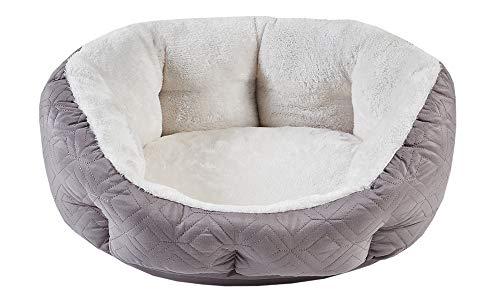 SCM Hundebett, Katzenbett, Warme Weiche Bequeme Hundesofa für kleinen Hund & Katzen, orthopädisches...