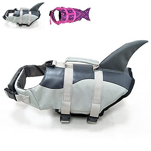 Snik-S Hundeschwimmweste mit verstellbarem Gürtel, Schwimmweste für Hunde mit kurzen Nasen (Mops,...