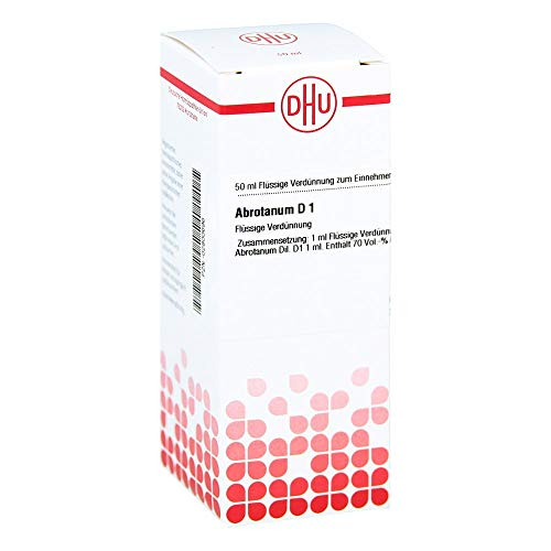 DHU Abrotanum D1, 50 ml Lösung