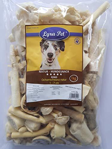 Lyra Pet® 5 kg Ochsenschwanz 1-7 cm 5000 g wie Ochsenziemer Kauartikel Hund Rind Kauartikel Kausnack