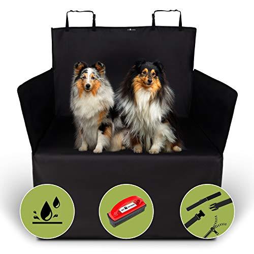 Jeff Wetnooze 2in1 Hundedecke Kofferraum,wasserdicht mit Spezialbürste,Kofferraumschutz für Hunde,...