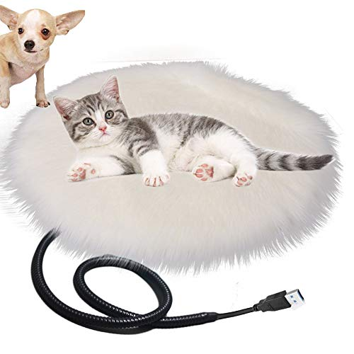 Queta Heizdecke USB Heizmatte Decke für Katzen & Hunde, Katzendecken Haustierdecke Umweltfreundliche...