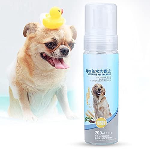 Semiter Wasserloses Spray-Shampoo für Haustiere, Shampoo-Spray für Haustiere No-Rinse-Shampoo mit...