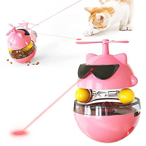 LucaSng Katzenspielzeug Elektrisch Interaktives Cat Toys, Intelligenzspielzeug Katzen spielsachen, Küken...