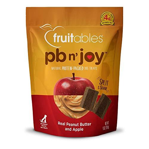 Fruitables pb n' Joy Hundeleckerlis | Proteinreiche natürliche Hundeleckerlis | Hergestellt mit echter...