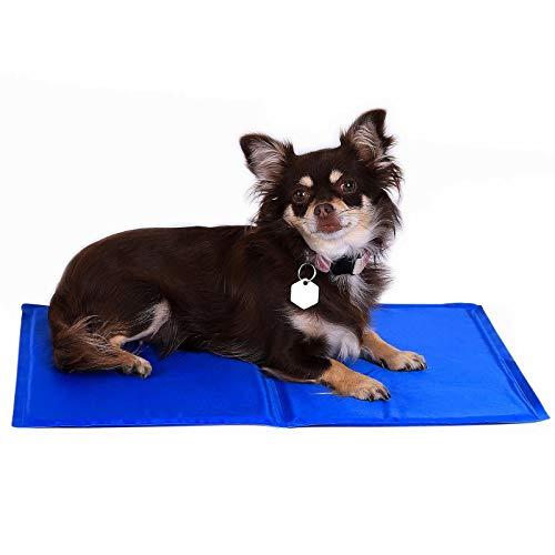 dibea Kühlmatte für Haustiere Hundekühlmatte kühlende Haustiermatte (S) 50 x 40 cm