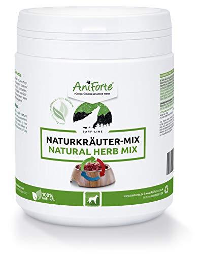 AniForte Barf Naturkräuter Mix für Hunde 250 g - Unterstützt Verdauung, optimiert Immunsystem,...