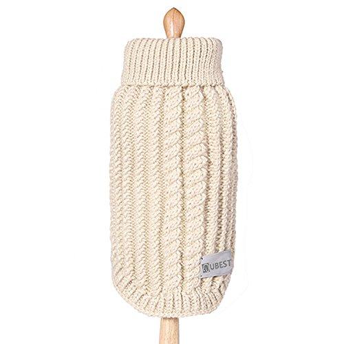 ubest Hundepullover, Sweater Gestrickter Pullover für Kleine Hunde, Hunde Pullover für Herbst Winter,...