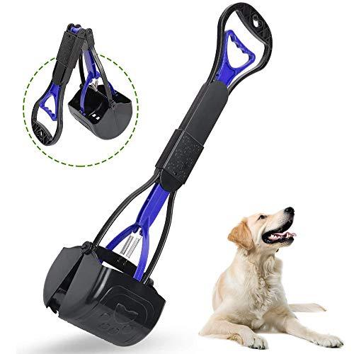 shangji Hundekotschaufel mit Stiel Tragbare Langem Griff Faltbare Hundekotschaufeln Waste Removal Scoop...
