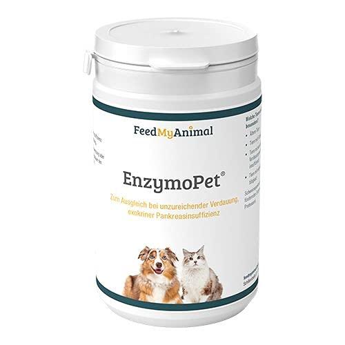 FeedMyAnimal EnzymoPet Hunde und Katzen zur Unterstützung bei exokriner Pankreasinsuffizienz 150g