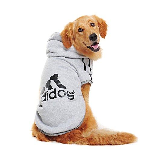 Rdc Pet Large Dog Hoodies, Apparel, Fleece Adidog Hoodie Sweater, Cotton Jacket Sweat Shirt Coat from 3XL...