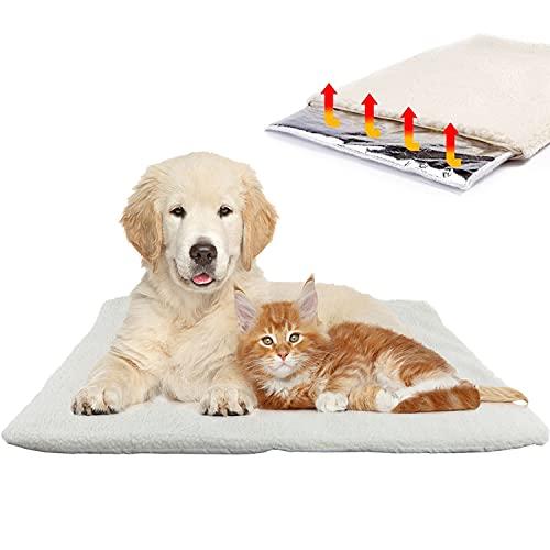 Aidiyapet Hundedecke & Katzendecke für kalte Böden |Waschbare Hunde Thermodecke | Reflektiert...
