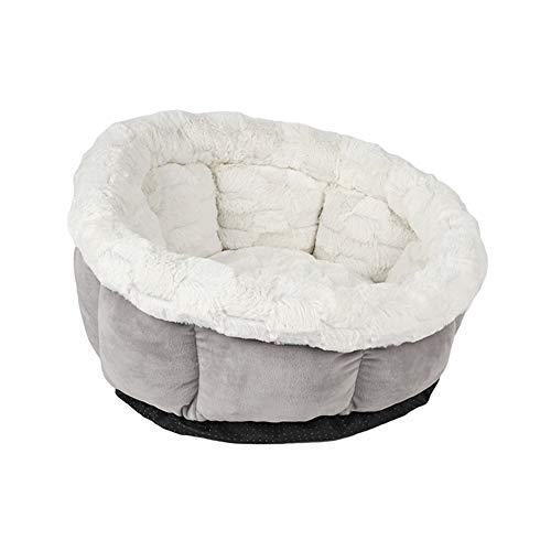 Cozywind Katzenbett Rundes Haustierbett Komfortables weichem Kissen maschinenwaschbar für Katzen/Kleine...
