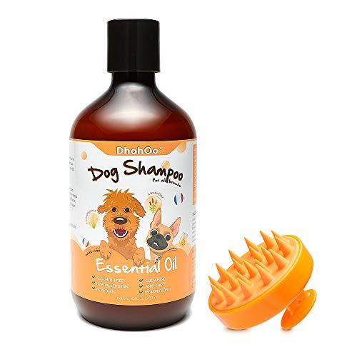 Dhohoo Hundeshampoo Conditioner für Allergien und Juckreiz mit ätherischem Öl, natürliche...