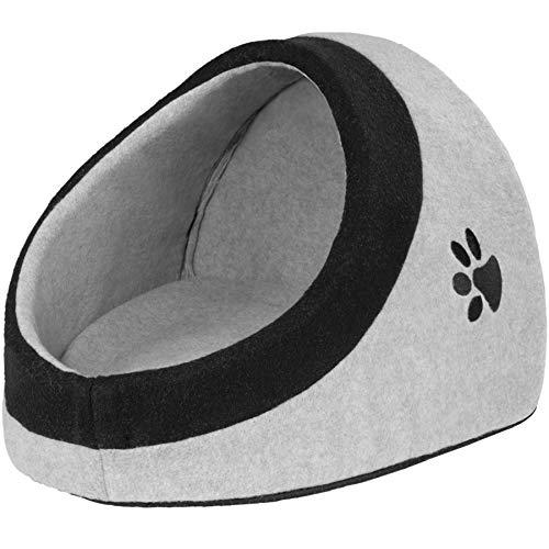 TecTake 800638 gemütliches Tierbett für Katzen, kleine Hunde oder andere kleinere Tiere, mit...