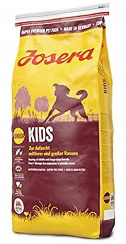 JOSERA Kids (1 x 15 kg)   Welpenfutter für mittlere und große Rassen   ohne Weizen   Super Premium...