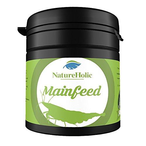 NatureHolic - Mainfeed Garnelenfutter - Futter für Wirbellose im Aquarium - 30 g