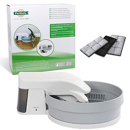 PetSafe Simply Clean Selbstreinigende Katzentoilette, Automatisches Katzenklo, Funktioniert mit...
