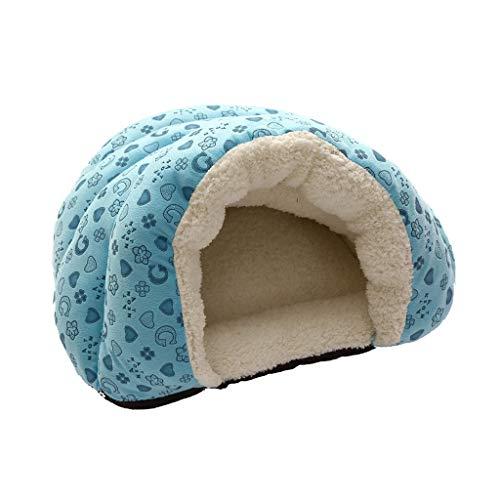 Jobewnipz Katzenhöhle für Katzen, Kitten, kleine Hunde & Welpen,Haustier Nest Entfernbar Katzenhaus...