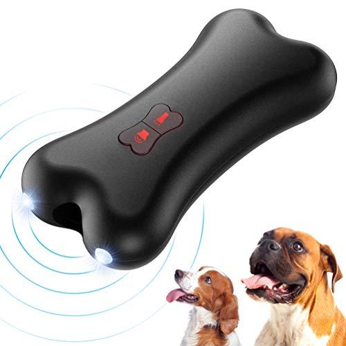 Petacc Anti-Bell-Gerät für Hunde, Ultraschall Anti-Bell-Mittel für Hunde Bellkontrolle 100% Sicher,...
