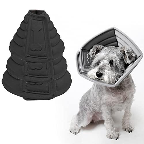 otutun Halskrause für Haustiere, Verstellbar von 17-23 cm Leichtgewicht Schutzkragen, Schutzkragen Kegel...