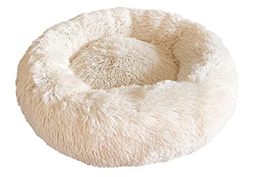 Docatgo Katzenbett,60x60cm Hundekissen,Donut Hundebett Kleine Hunde Bett,Hundekorb Mittelgroße...