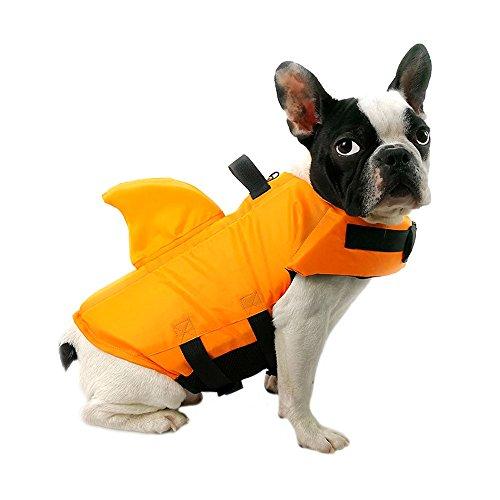 FONLAM Schwimmweste Hund, Rettungswesten Badeanzug für Hunde Neulinge Schwimmweste für Haustier...
