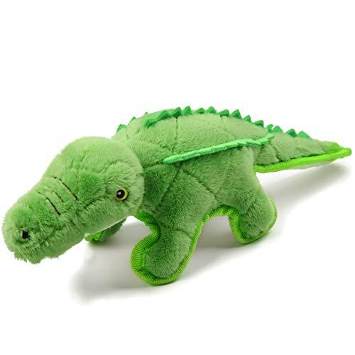 Iokheira Hundespielzeug, Quietschspielzeug für Hunde Plüschspielzeug für Hund aus natürlicher...