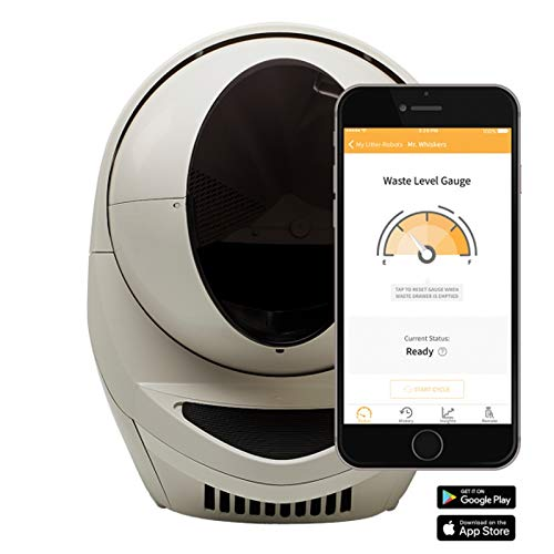 Litter-Robot 3 Connect Automatische selbstreinigende Katzentoilette (Beige) EU