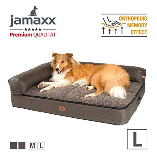 JAMAXX Premium 4-in-1 Hunde-Sofa - Orthopädische Couch mit Memory Visco Schaumstoff, abnehmbare Polster,...