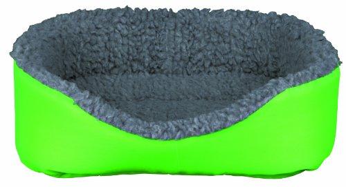 Trixie 62703 Kleintierkuschelbett, 35 × 28 cm, grau/grün