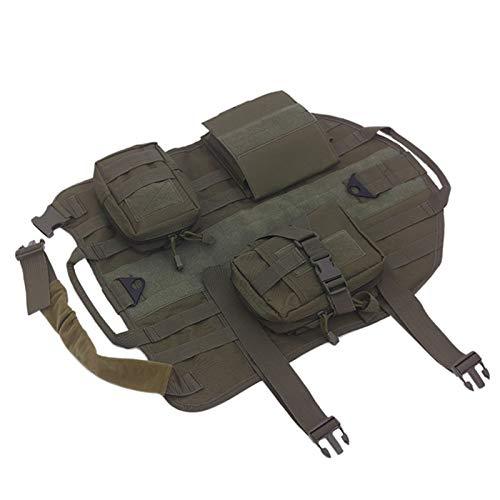 YUANYUAN520 Taktische Weste, Outdoor-Einsatzweste, Trainingsweste, Jagdweste, Hunde, wasserabweisend,...