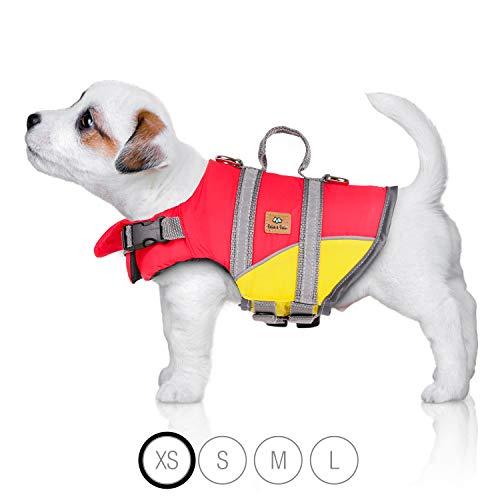 Bella & Balu Schwimmweste für Hunde – Reflektierende Hundeschwimmweste für maximale Sicherheit im und...