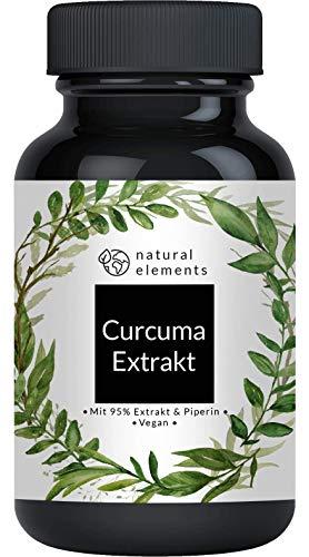 Curcuma Extrakt Kapseln (90 Kapseln) - Curcumingehalt EINER Kapsel entspricht dem von ca. 10.000mg...