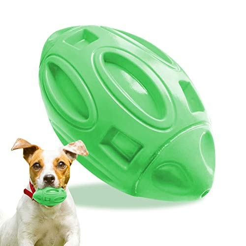 Ahagut Dog Toys Chew Unzerstörbar für Aggressive Chewers Langlebiges Hunde-Rugby-Spielzeug für große...